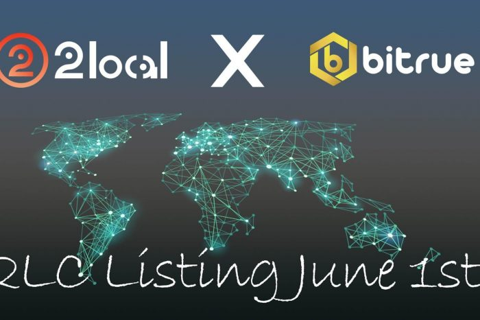 2local Native Coin 2LC Will Be Listed On Bitrue Exchange On The 1st Of June