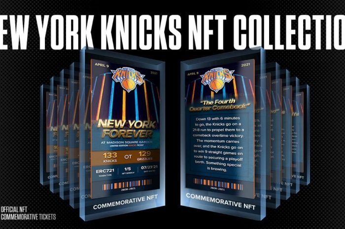 The Saga of how New York Knicks synergized with Sweet to launch their exclusive 3D NFT Collection