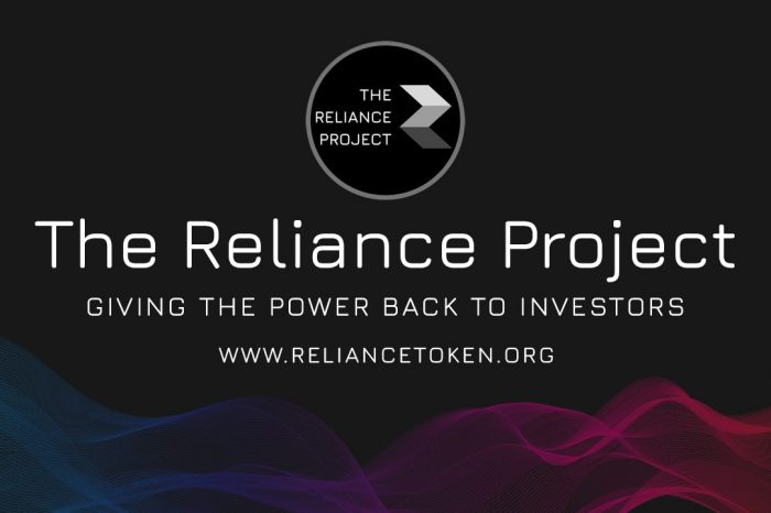 The Reliance Project : Giving the Power Back to Investors
