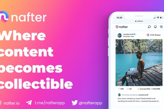Nafter Announces Global Launch of World's First NFT Social Network