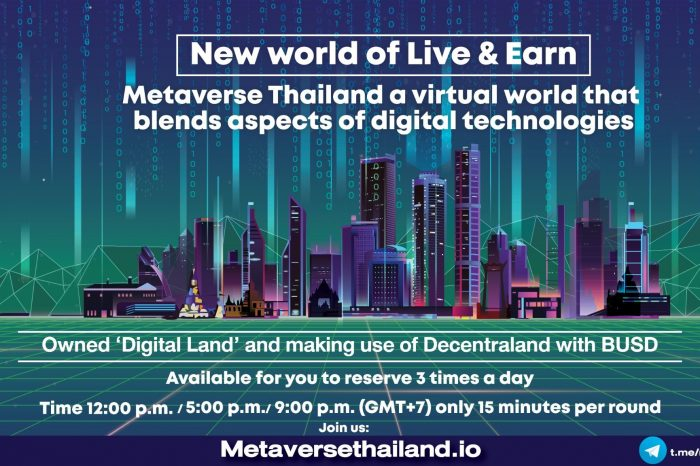 Metaverse Thailand, The first chapter of the secondary world