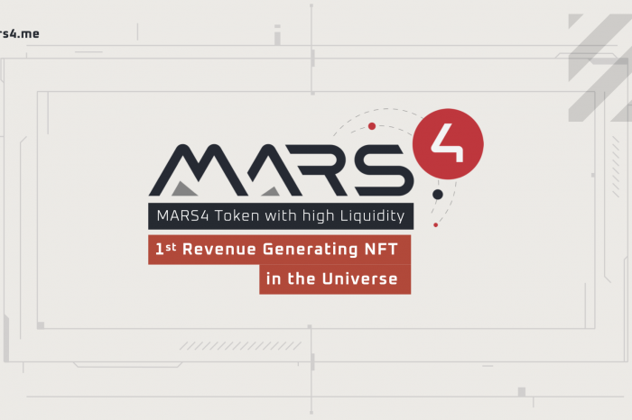 Mars4: Highly Liquid MARS4 Dollars and First-of-a-kind Revenue Generating Mars Terrain NFTs